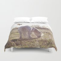 grace Duvet Covers featuring grace by With Love & Lace...