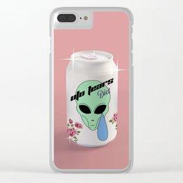 Alien Tears soft drink Clear iPhone Case