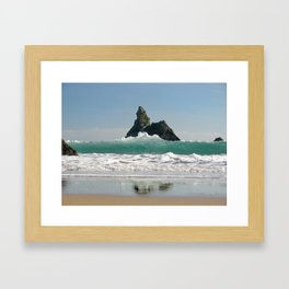 BroadHaven South Beach.Pembrokeshire.Wales. Framed Art Print