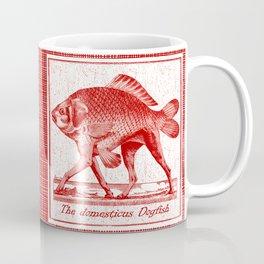 IF FISHES HAD LEGS (red) Coffee Mug