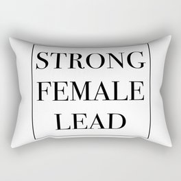 Strong Female Lead Rectangular Pillow