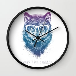 Who's your granny? Wall Clock