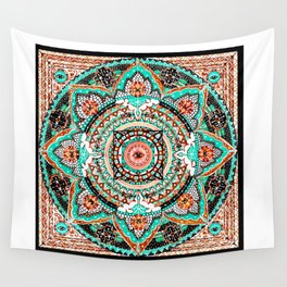 Illuminated Consciousness Wall Tapestry