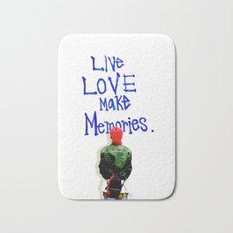 Live Love Make Memories, G-Dragon... Bath Mat