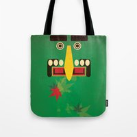 canada Tote Bags featuring Canada by LG Design
