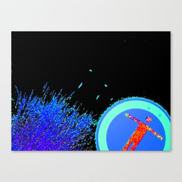 Working with Angles #2 Canvas Print