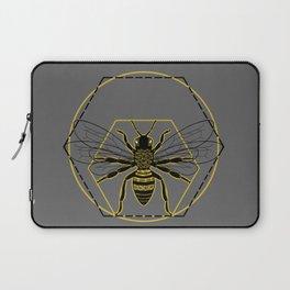 Vitruvian Bee Laptop Sleeve