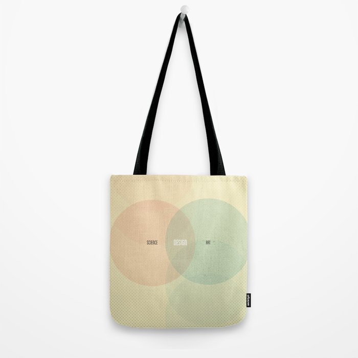 Design is Where Science and Art Break Even Tote Bag