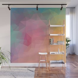 """""""Friday night"""" triangles design Wall Mural"""