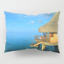 Over-the-Water Island Bungalow Pillow Sham