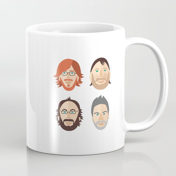 Trey, Fish, Mike, Page as Vector Characters Coffee Mug