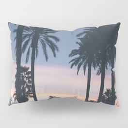 SUNRISE - SUNSET - PALM - TREES - NATURE - PHOTOGRAPHY Pillow Sham