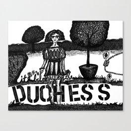 duchess Canvas Print