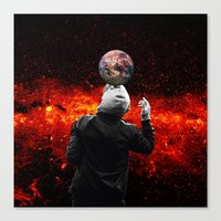 football Canvas Prints featuring Football by Cs025