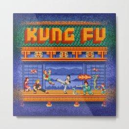 Fu Kung Metal Print