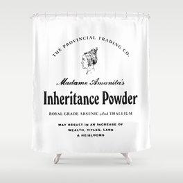 Inheritance Powder Shower Curtain