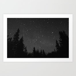 a speck of dust Art Print