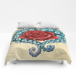 Octo Rose Love Comforters
