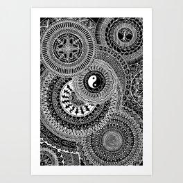 Mandala Mindfulness Art Print