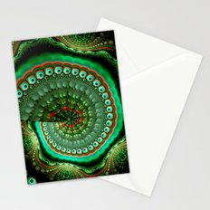 Pretty eyes, swirling pattern abstract Stationery Cards