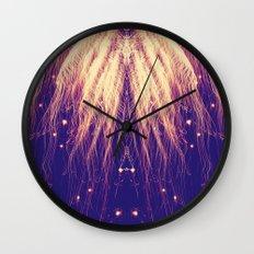 Fire Hair Wall Clock