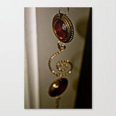 Hanging amber Canvas Print