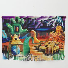 The Practical Deception by Vincent Monaco Wall Hanging