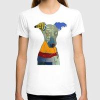 greyhound T-shirts featuring kacy (greyhound  by bri.buckley