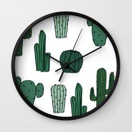 Cactus Overload Wall Clock