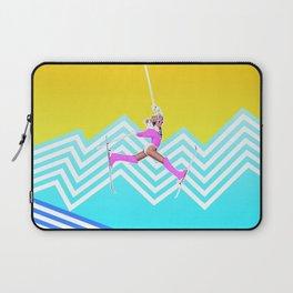 Ski like it's 1989 Laptop Sleeve