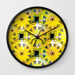 Medallions Re-visited 5 Wall Clock
