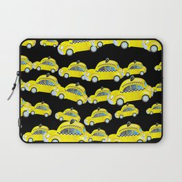 Yellow Taxi Cab Laptop Sleeve