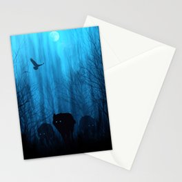 Wolf Pass: Cerulean Mist Stationery Cards