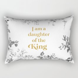 Daughter of the King Rectangular Pillow