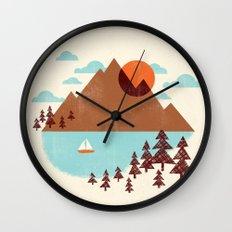 Indian Summer Wall Clock