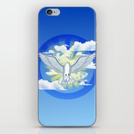 Dove Of Peace iPhone Skin