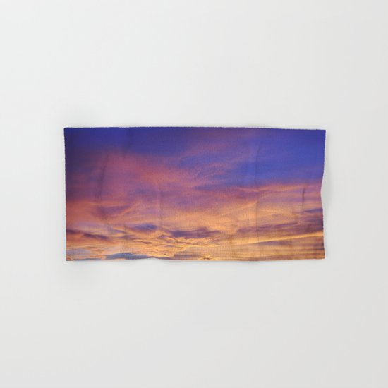 COME AWAY WITH ME - Autumn Sunset #1 #art #society6 Hand & Bath Towel