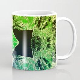 Green Mandala-Heart Chakra Coffee Mug