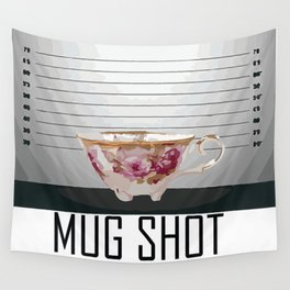 Mug Shot Wall Tapestry