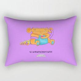 The GorgledeeFuzzwoopsydayzee Rectangular Pillow