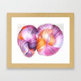 Calipso Batts - Fiber Arts Framed Art Print