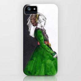 Northern Renaissance Woman iPhone Case