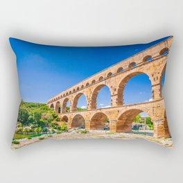 Pont du Gard, Provence Rectangular Pillow