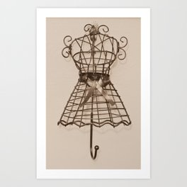 be fashionable Art Print