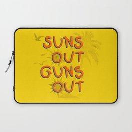Guns Out Laptop Sleeve