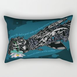 Cybernetic prosthesis Rectangular Pillow
