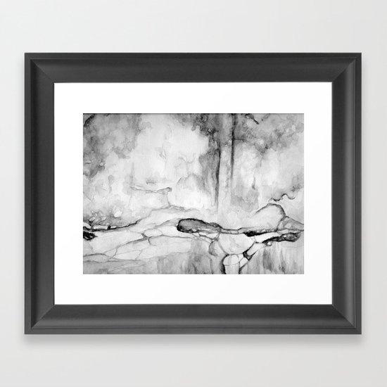 Bones of You Framed Art Print