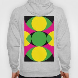All seeing eye in the center ! The other eyes don't see as far. In a purple background. Hoody