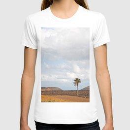 Lanzarote Palm tree landscape T-shirt