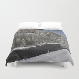 Carol Highsmith Snow Covered Conifers Duvet Cover